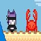 بازی آنلاین پلتفرمر GRAPPLE CAT