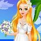 بازی لباس عروسی راپونزل