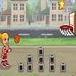 بازی مهارت پرتاب توپ بسکتبال
