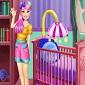 بازی آنلاین تزئین اتاق بچه – Baby Sister Room Deco