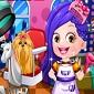 بازی آنلاین مدل مو و لباس برای بچه فندقی