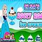بازی آنلاین السا - درست کردن بستنی