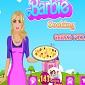 بازی پخت پیتزای یونانی توسط باربی