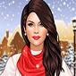 بازی انتخاب لباس زمستانی برای سلنا