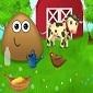 بازی آنلاین پو در مزرعه