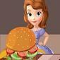 بازی آنلاین تزئین همبرگر توسط سوفیا