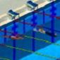 بازی آنلاین مسابقات شنای حرفه ای